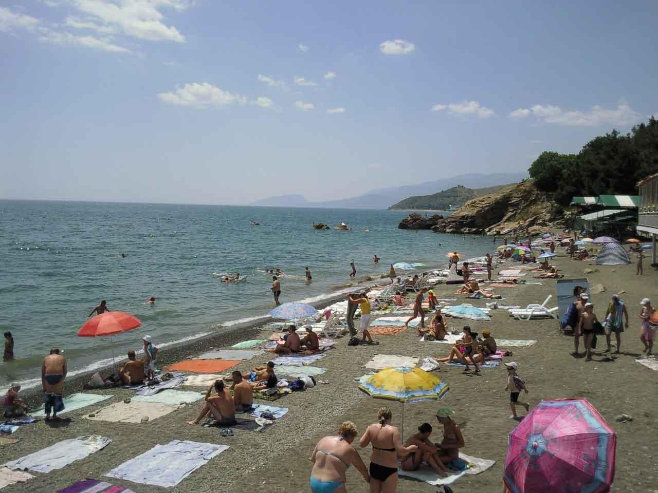 Крым малореченский фото пляж